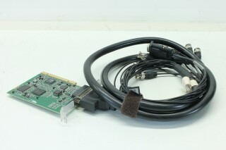 Decklink Pro BMD-PCB4 revD with Breakout Cable (No.1) JDH E-2-9266-x