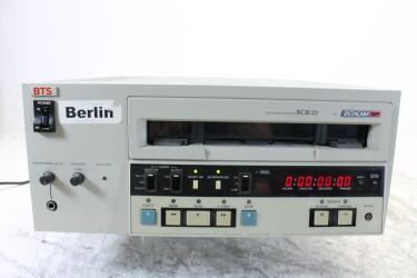 Videocassette player Betacam SP BCB-22 EV-M-6396