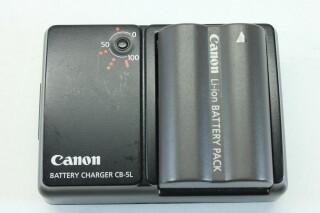 CB-5L With Canon 7.4V 1100mAh Li-ion Battery JDH E-3-9253-x 2