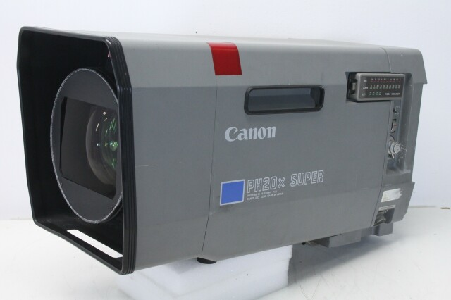 PH20x Super (PH20x6B IE) 6-120mm F1.4 Broadcast TV Camera Lens BVH2 op-RK-6-12144-bv