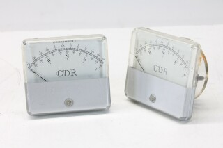 TR-44 Antenna Rotor Control Meters, Lot of 2 KAY B-6-13544-bv