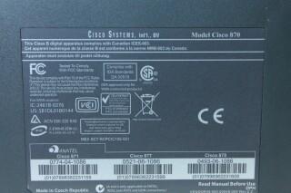 Cisco 800 Series Router (No.1) JDH A-9293-x 6