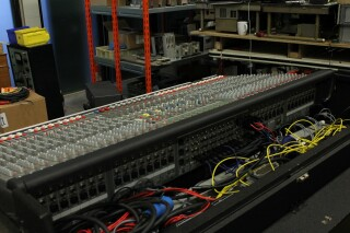 HP-8 32/8/2 Channel Mixer In Flightcase With PSU (No.1) PUR VL-14287-BV 5