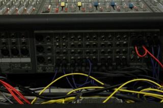HP-8 32/8/2 Channel Mixer In Flightcase With PSU (No.1) PUR VL-14287-BV 8