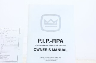 pip RPA - 4x2 Remotable Mic/Line With Priority Mixer AXL G-10227-z 1