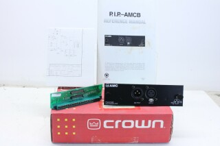 pip AMCb Programmable Crossover,Equalizer&Compressor - For Crown Amps AXL G-10223-z 1