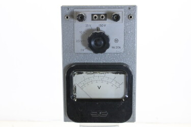 Voltmeter No. 206 HEN-R-6092 NEW