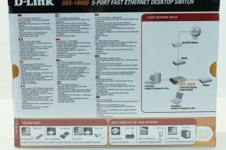 DES-1005D - 5-Port Fast Ethernet Desktop Switch NEW! A-9657-x 4