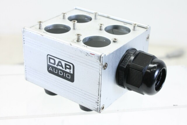 Break Out Box With 4x Space for XLR Chassis F6-12633-BV