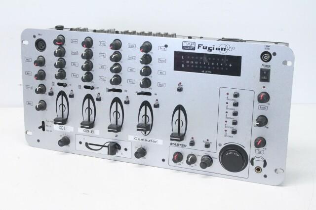 Fusion - 19 Inch DJ Mixer with Sampler R-11948-bv