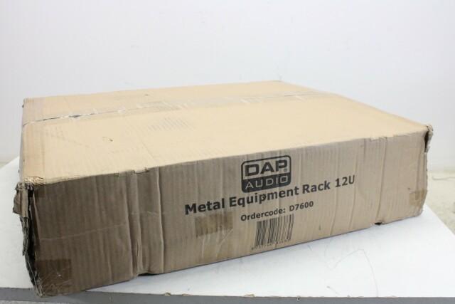 D7600 Metal Rack With 12x 1U Space NEW In Box EV VLQ-14120-BV