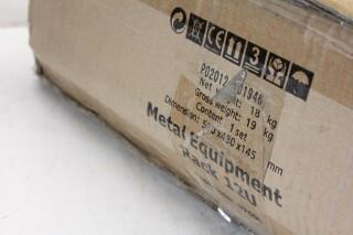 D7600 Metal Rack With 12x 1U Space NEW In Box EV VLQ-14120-BV 4
