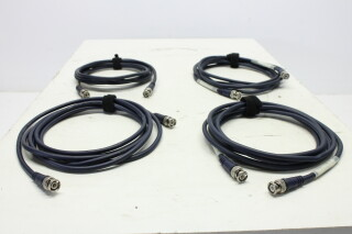 Lot with 4 BNC Cables 3m HVR-KM3-3956