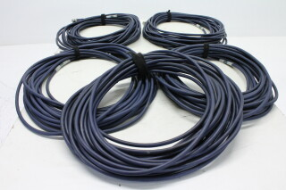 Lot with 5 BNC Cables 15m HVR-KM3-3954