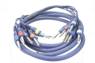 MK-822 8 Pair Studio Multi Core Cable Balanced Jack (3 Meter) EV-KM2-4848 NEW