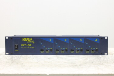 "MPA-405 4 Way Multi Adapter 19"" rack 2HE EV-RK14-6219 NEW"