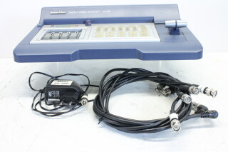 As New! Digital Video Switcher SE-500 incl. BNC Cables and Adapter JDH-C2-R-5581 NEW