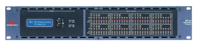 SC64 - 64 I/O Digital Matrix Processor - without Cards AXL5-AXL-PL-3-12831-bv