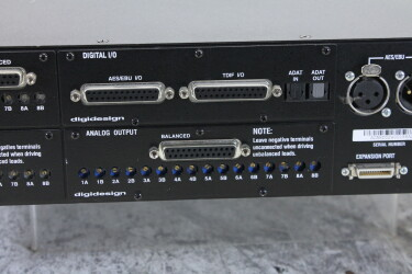 192 I/O Pro Tools HD Digital Audio Interface /w 4 modules (No.2) TCE-RK17-6663 NEW 8
