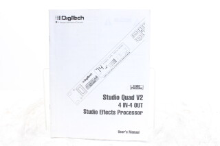 Studio Quad V2 User's Manual EV-F-5891