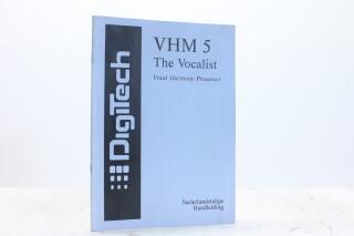 VHM 5 The Vocalist Vocal Harmony Processor Manual Dutch EV-F-5339 NEW