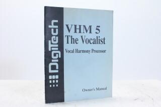 VHM 5 The Vocalist Vocal Harmony Processor Manual EV-F-5341 NEW