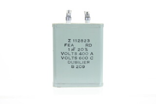 NEW OLD STOCK Z112823FEA RD 1MFD± 20%, Volts400A - Volts600C B209 HEN-ZV-7-BOX-3-5323