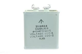 NEW OLD STOCK Z112824 4 OMFD ± 20%, Voltage 400A - Voltage 600C KJQ HEN-ZV-7-BOX -1-5320