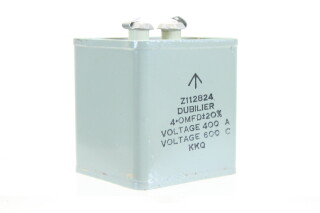 NEW OLD STOCK Z112824 4 OMFD ± 20%, Voltage 400A - Voltage 600C KKQ HEN-ZV-7-BOX-1-5321 2