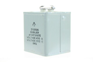 NEW OLD STOCK Z112824 4 OMFD ± 20%, Voltage 400A - Voltage 600C KKQ HEN-ZV-7-BOX-1-5321 3