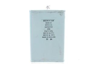 Nitrogol Capacitor B742 8µF ± 15% 800VDC @ 70°C - 550VDC @ 100°C HEN-ZV-7-BOX-5-5358 NEW