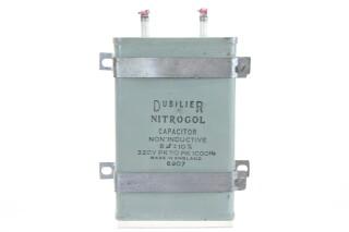 Nitrogol Capacitor Non-Inductive 8 µF ± 10%, 320V PK To PK 1000Hz 6907 HEN-ZV-7-BOX-2-5327