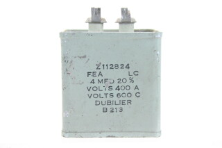Z112824 4 MFD± 20%, Volts400A - Volts600C B213 HEN-ZV-7-BOX-1-5322