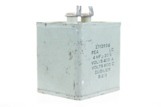 Z112824 4 MFD± 20%, Volts400A - Volts600C B213 HEN-ZV-7-BOX-1-5322 2