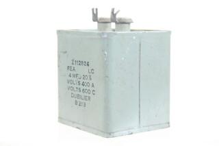 Z112824 4 MFD± 20%, Volts400A - Volts600C B213 HEN-ZV-7-BOX-1-5322 3