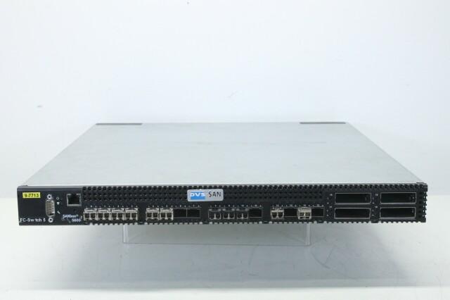 SANbox 5600 - 16-Port, 4Gb Fiber Switch (No.1) BVH2 RK-19-12172-bv