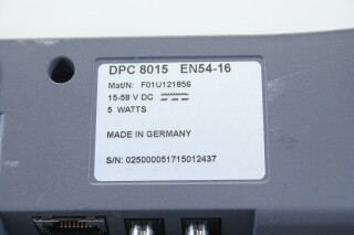 DPC 8015 - Call Station/Paging Console (No.1) BVH2 D-12093-bv 9