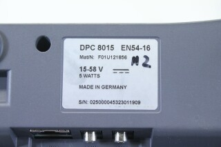 DPC 8015 - Call Station/Paging Console (No.4) BVH2 D-12096-bv 9