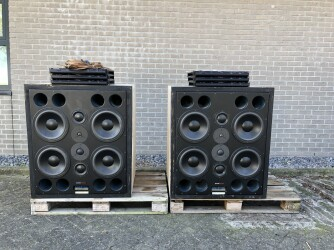 M4 Studio Main Monitors With 6x A1 Amplifiers TCE-VL-6567 NEW