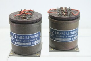 Dipl-ing.h.Eckmiller MC phono step up transformer Matched set CT10/11 E5-13122-BV