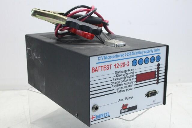 Battest 12-20-3 - 12v Microcontrolled Battery Tester KAY L-13547-BV