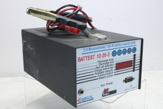 Battest 12-20-3 - 12v Microcontrolled Battery Tester KAY L-13547-BV