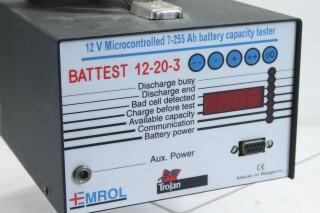 Battest 12-20-3 - 12v Microcontrolled Battery Tester KAY L-13547-BV 2