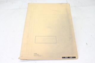 928 Turntable Manual EV-F-4823 NEW