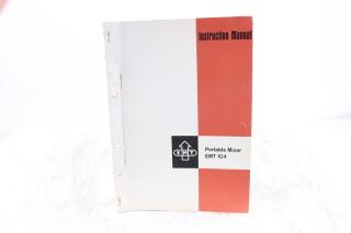 EMT 104 Portable Mixer Instruction Manual EV-F-5898
