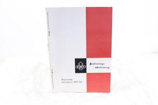 EMT 104 Portable Mixer Instruction Manual (german) EV-F-5899