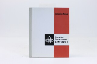 256 II Compact Compressor Instruction Manual (No.1) F-7828-x