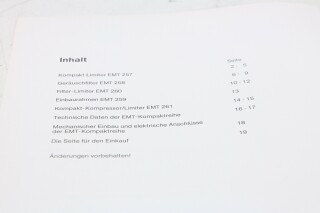 257,258,260,261 Technical Information F-12979-BV 2