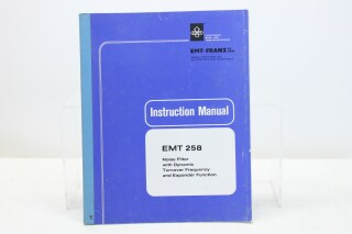 258 Noise Filter - Instruction Manual (No.3) F-8517-x
