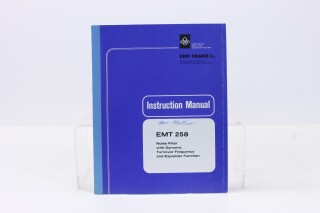 258 Noise Filter Manual (No.1) F-7830-x